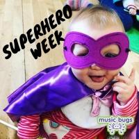 Superheroes - Bangor Family Bugs & Baby Bugs