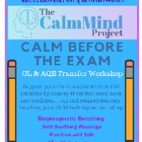 Calm before the Exam (GL/AQE Stressbusting Workshop)