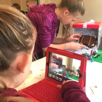 Blick Animation Club in Belfast - Lego Animation!