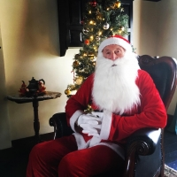 Santa at The Ballance House