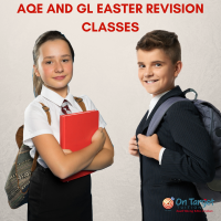 AQE and GL Transfer Test Easter Revision Sessions