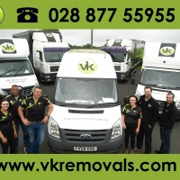 VK Removals & Storage - Northern Ireland and UK