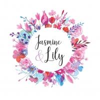 Jasmine & Lily Floral Wreaths