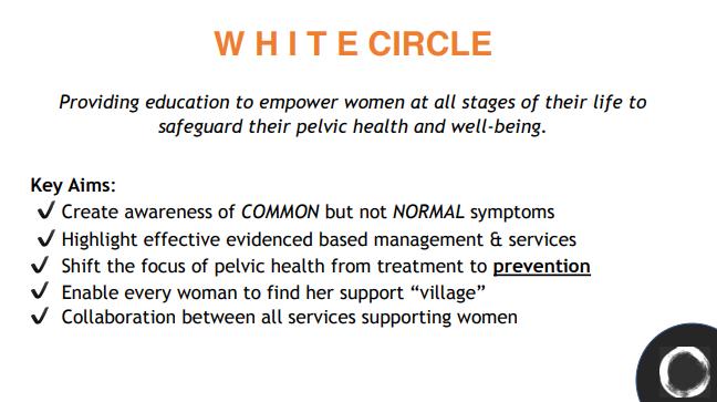 White Circle- Aims