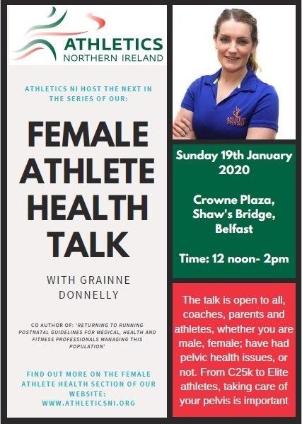Female Health Talk - Grainne