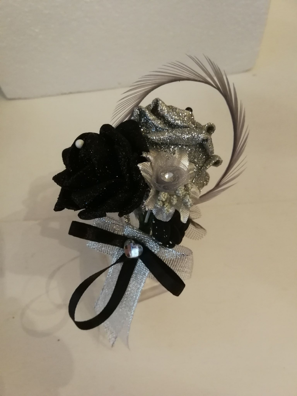 A selection of what I create. 2020-01-13 - One of many school formal corsages I create.