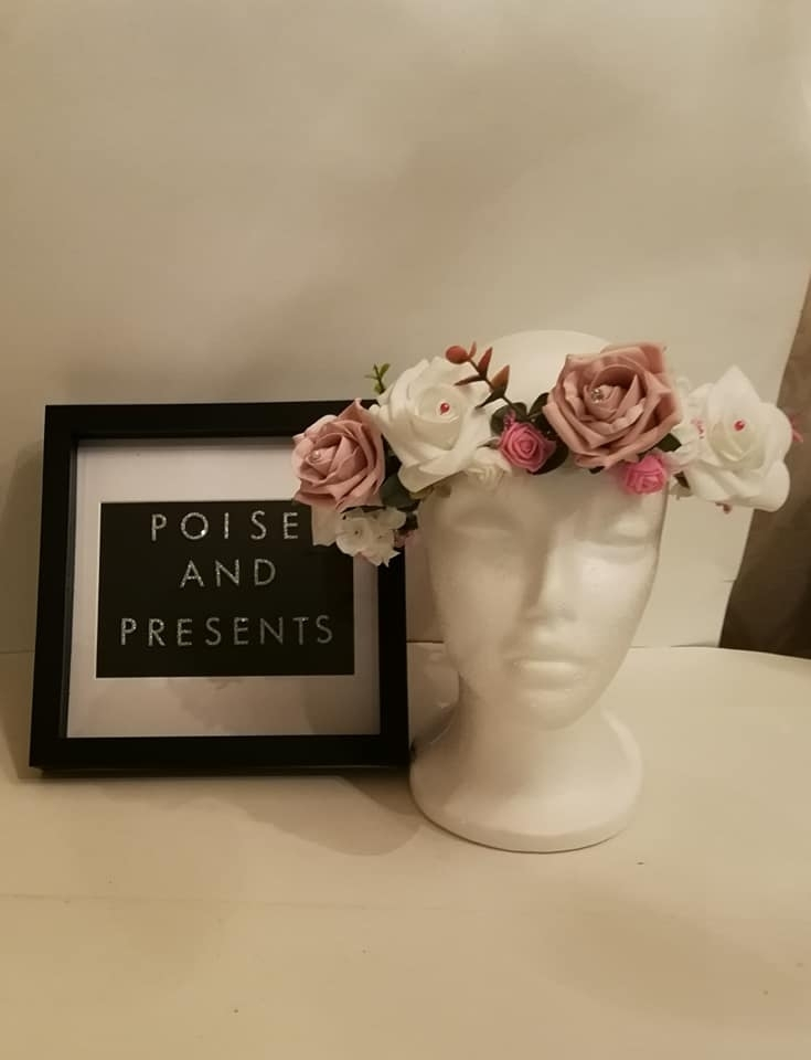 A selection of what I create. 2020-01-13 - Bridal floral crown