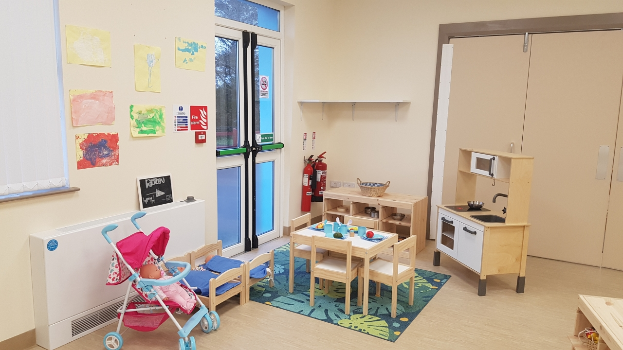 Toddlers home corner area