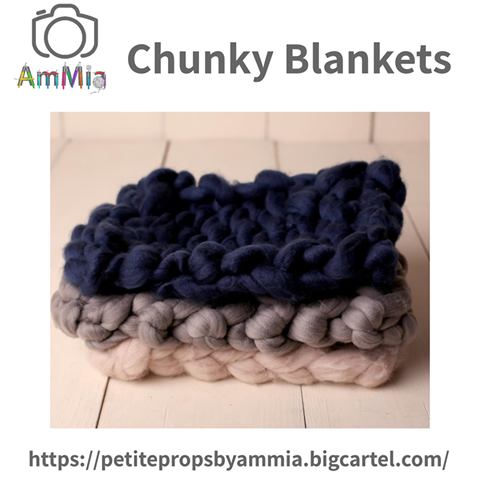 Take Over Tuesday 14th May 2019  - These chunky blankets are perfect for layering and available in a wide range of colours x  Michelle Petite Props by Ammia  https://www.mumsni.com/business-directory/217-petite-props-by-ammia