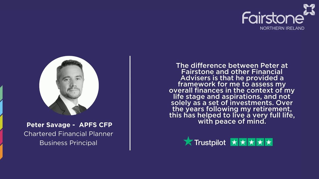 TrustPilot - Peter Savage (Chartered financial planner)