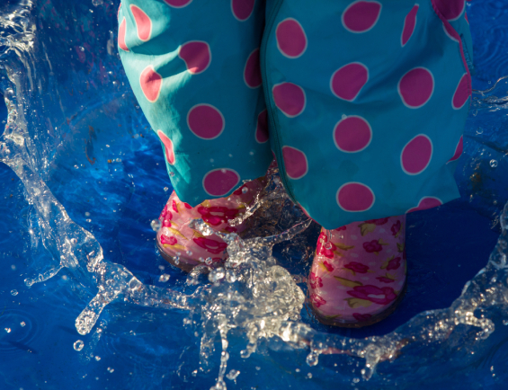 Make a Splash at the Northern Ireland Puddle Jumping Championships 2020