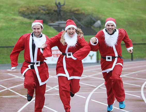 Be a Claus for a Good Cause! Register for Santa Dash Belfast City 2018 and support disadvantaged children across Northern Ireland