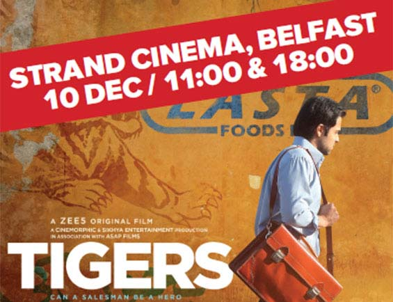 Oscar-winning director' film 'Tigers' screened in NI