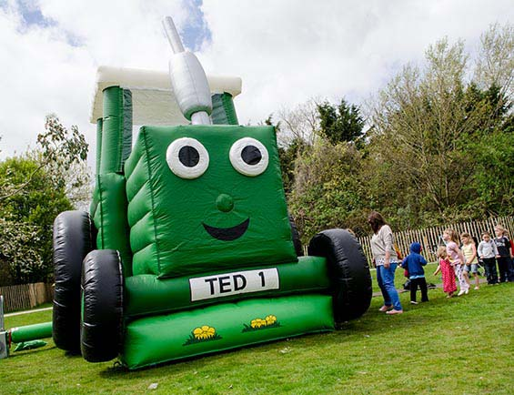 Tractor Ted - First Visit to Northern Ireland at Number One Family Festival