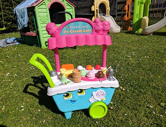Mums NI Reviews Leapfrog Scoop and Learn Ice Cream Cart