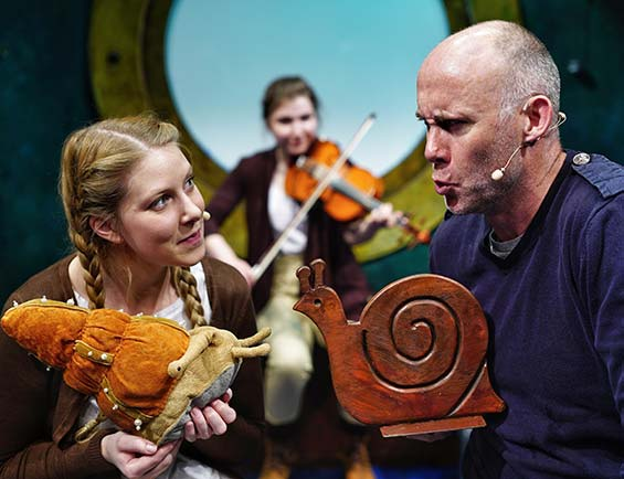The Snail and the Whale at the Lyric Theatre Belfast  22 - 26 August