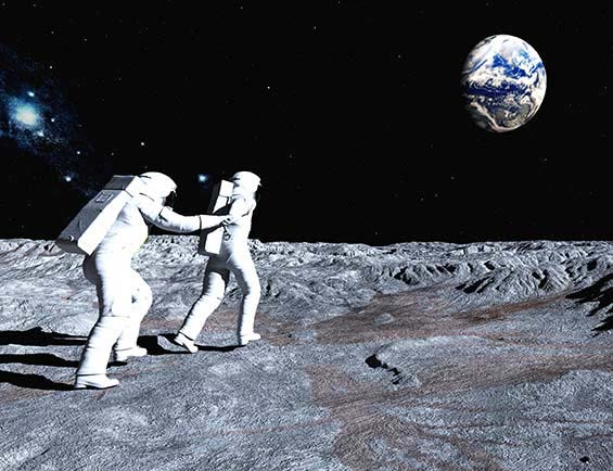Fun Facts Friday - Walking on the Moon